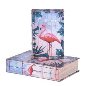 Bokförvaring Flamingo 2 set Multi