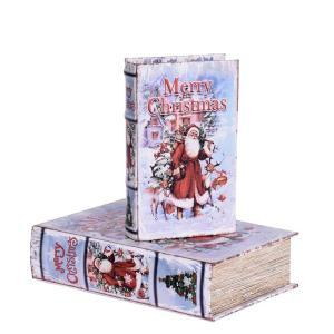 Bokförvaring Jul 2 set Multi