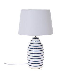 Bordslampa Casper Blå/Vit