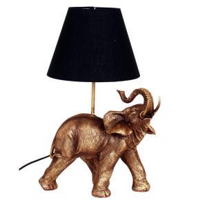 Bordslampa Elefant Mässing