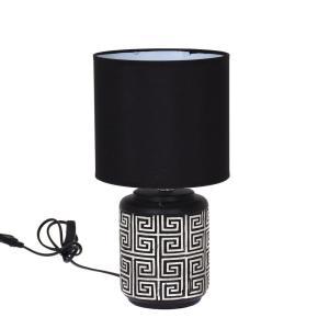 Bordslampa Sanna Svart/Vit