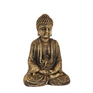 Dekoration Buddha Antikmässing