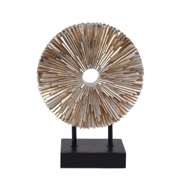 Dekoration Cadiz Silver/Svart