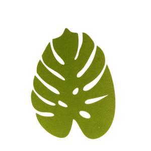 Duk Filt blad Grön