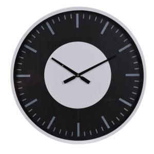 Klocka Mariefred Svart/Vit