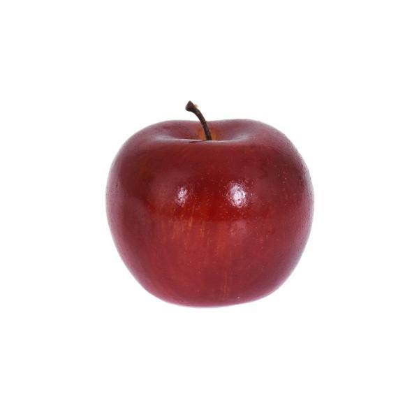 Konstfrukt Frukt äpple Röd