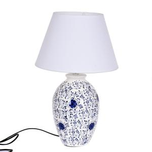 Lampa Christer Blå/Vit