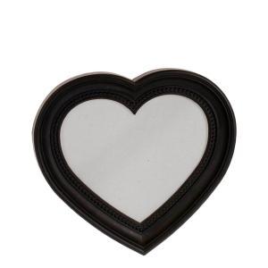 Spegel Hjärta Svart