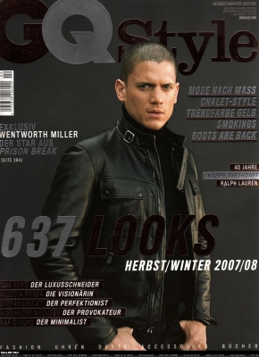 Wentworth Miller for GQ Style