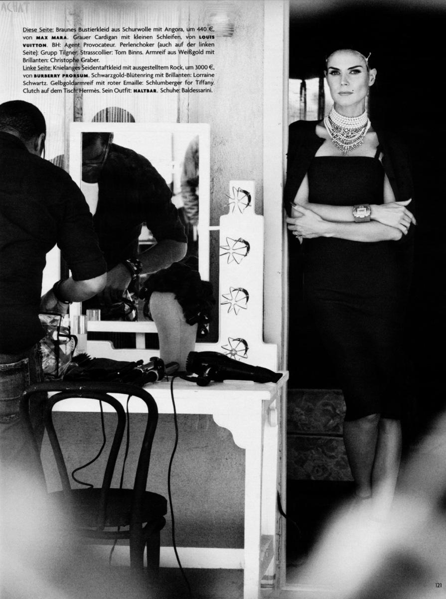 Special Heidi Klum For Vogue Germany