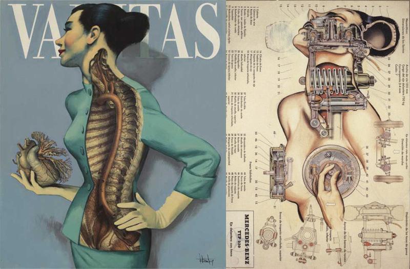 Fernando Vicentes Anatomical Art