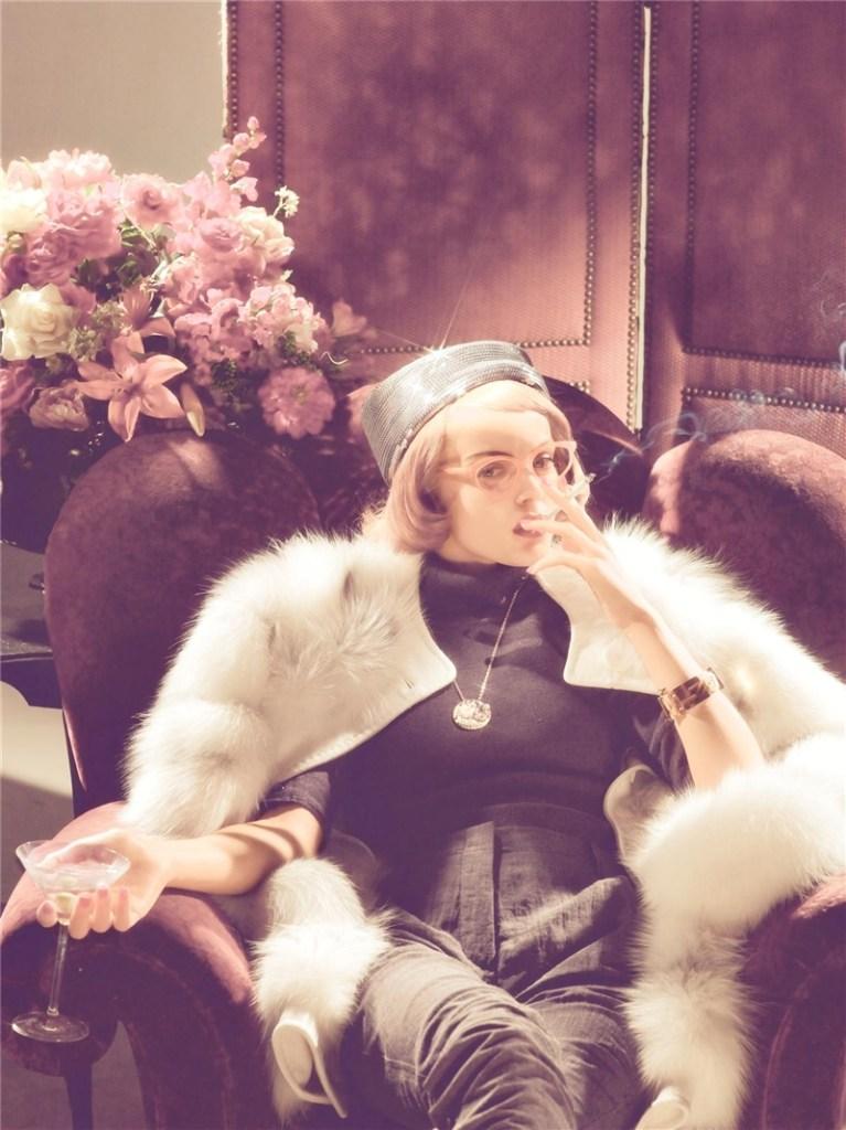 Viktoriya Sasonkina By Steven Meisel For Vogue Italia
