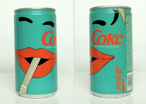 vintage coke can design 2