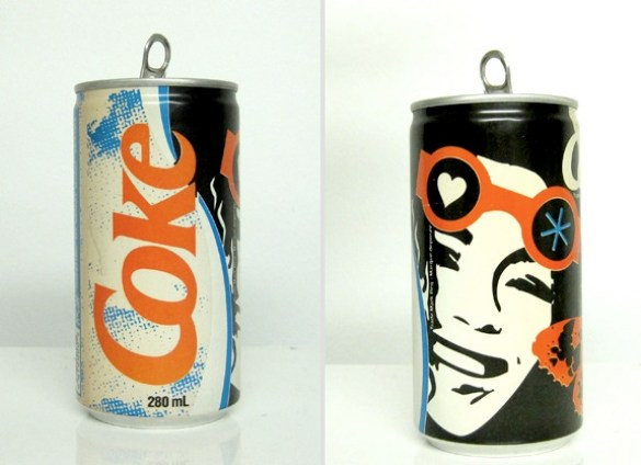 vintage coke can design 7