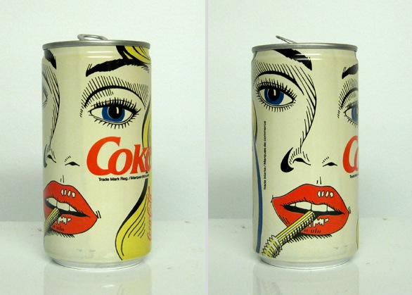 vintage coke can design 8