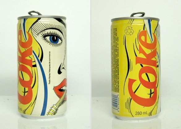 vintage coke can design 9