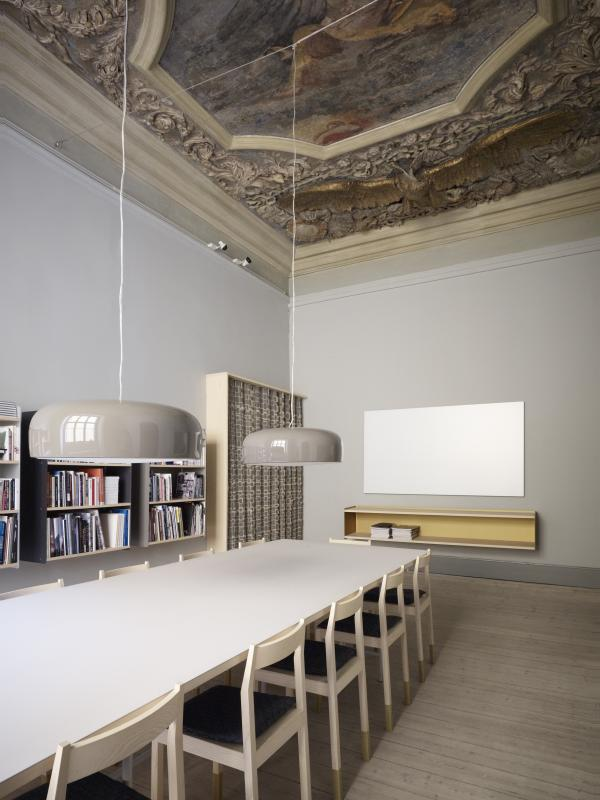 Line depping furniture for Boutique hotel anahi roma