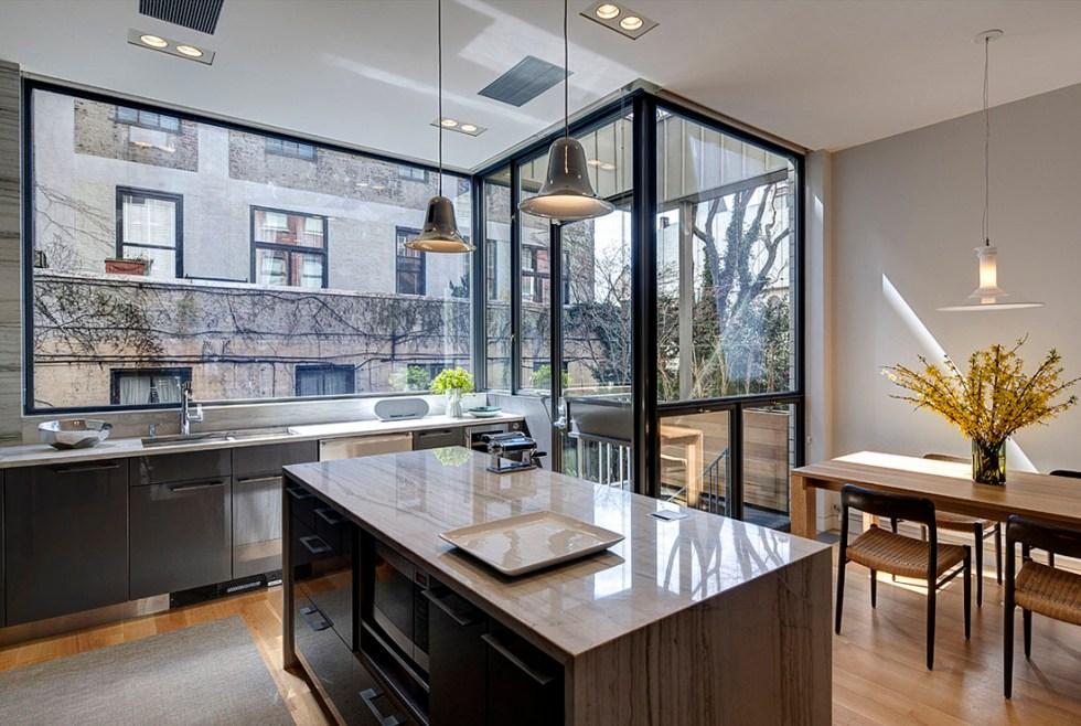 Hansen Residence: Modern Brooklyn Townhouse
