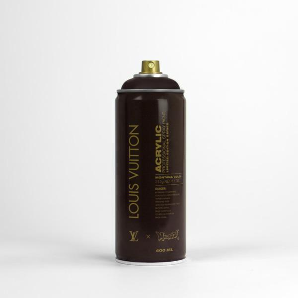 Antonio Brasko-spray can-project-louis-vuitton