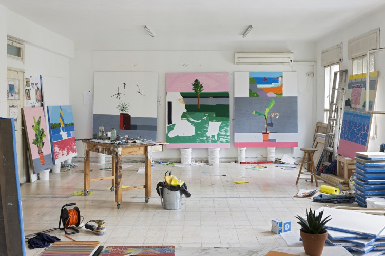 guy-yanai-studio-israeli-artist