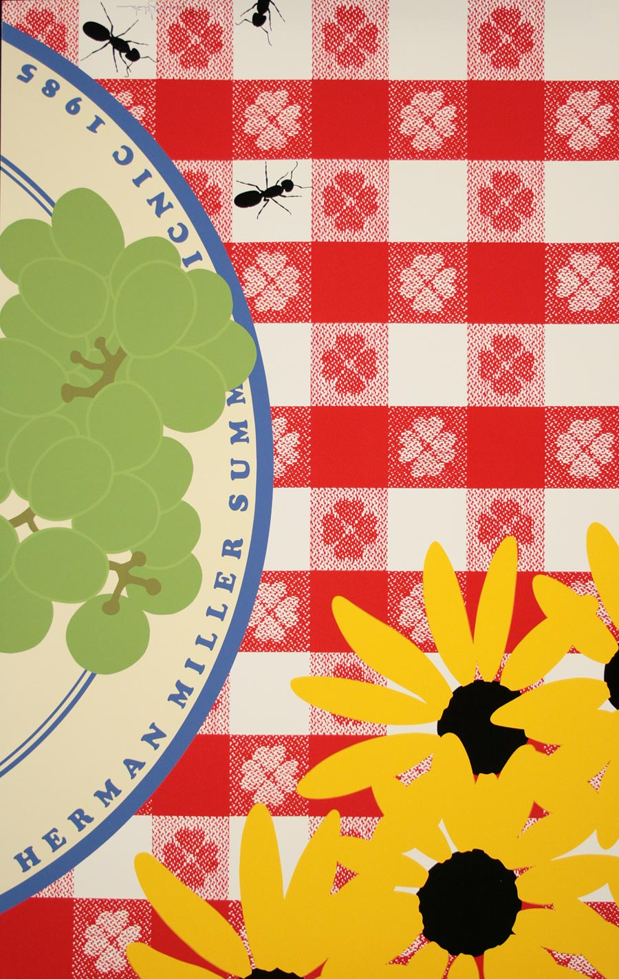 the herman miller summer picnic series posters