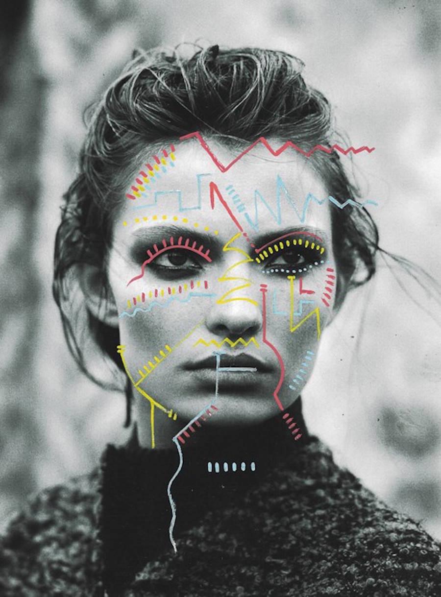 Matthieu Bourel Mixed Media Collages 8 Trendland