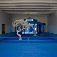 Hourglass: Unwinding at Daniel Arsham's Blue Zen Garden [Atlanta]