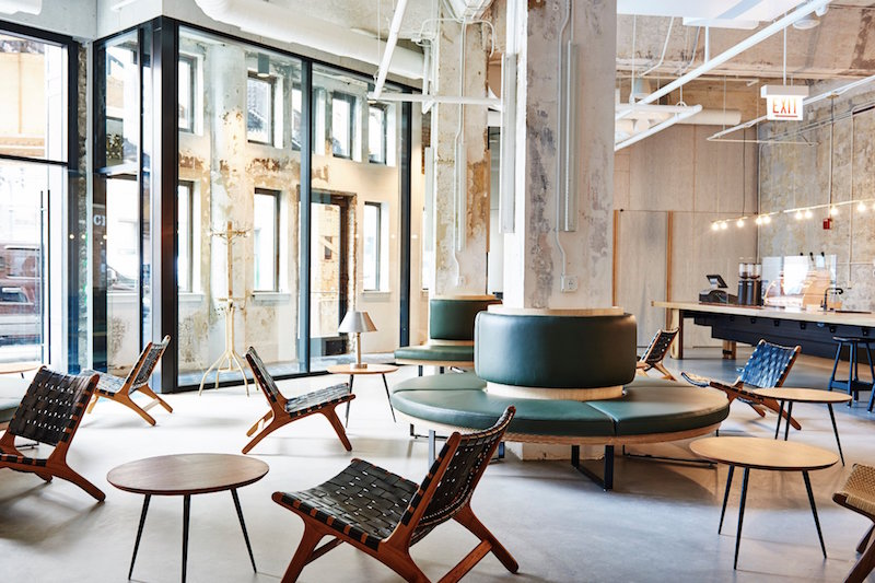 Industrial Minimalist For The Hollander Hotel Chicago