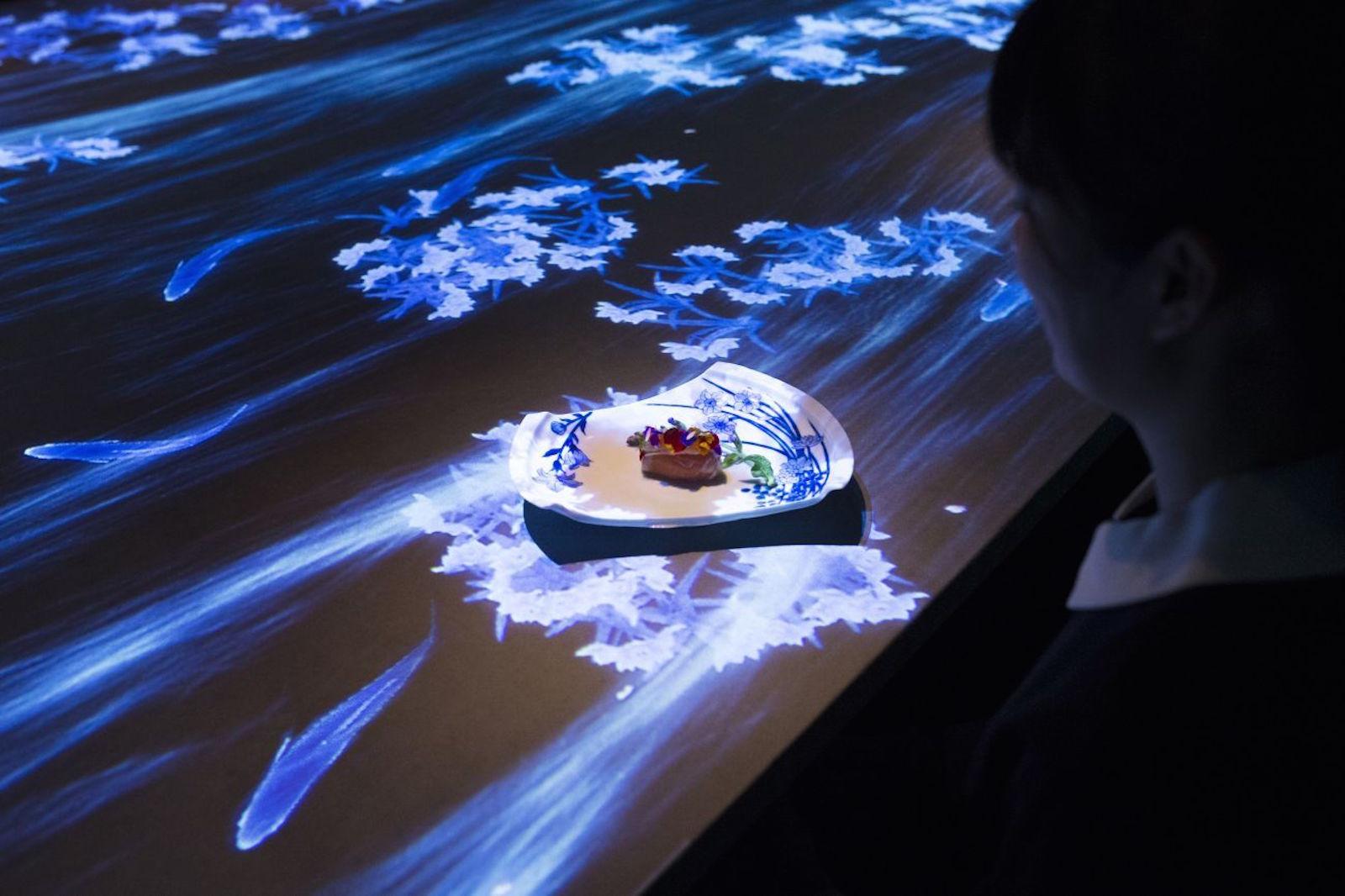 Interactive Dining Experience At Tokyo S Sagaya By Teamlab