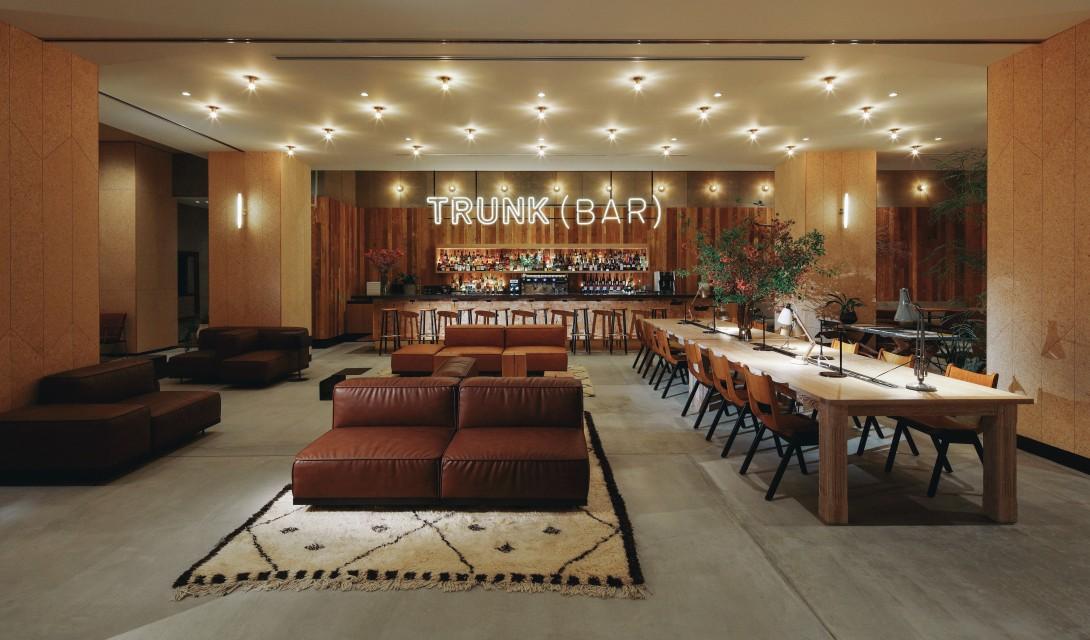 Newest hip boutique hotel trunk hotel tokyo trendland for Hip boutique hotels