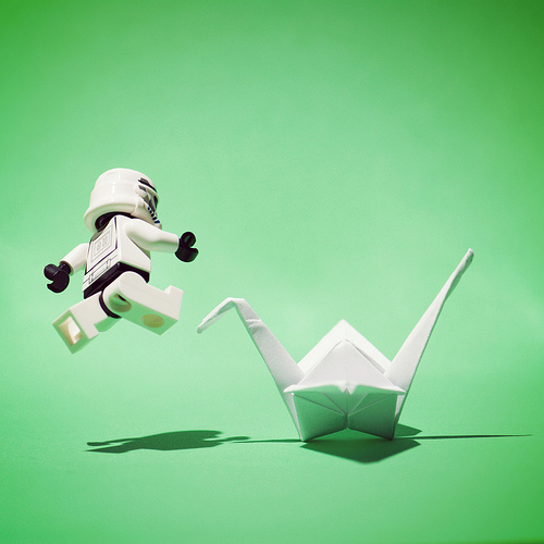 Jumping Storm Trooper