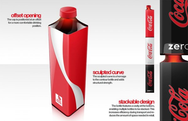 coke packaging concept by andrew kim 1 600x387 Next Coke Packaging  Concept by Andrew Kim