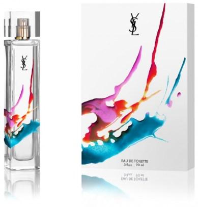 ysl3 600x626 Nueva fragancia de YSL Diseño de Packaging por Axel Peemoeller