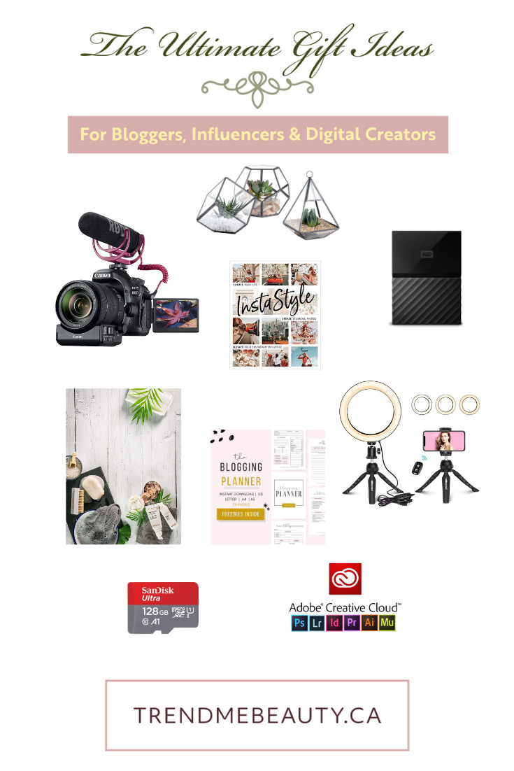 Ultimate Gift Guide for Bloggers, Influencers & Digital Creators