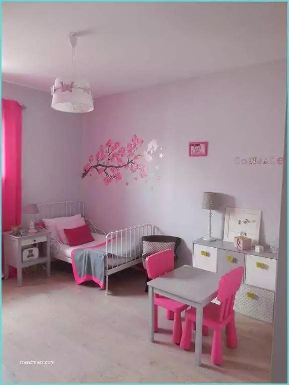 Chambre Gris Et Rose Mur - Metamax.top