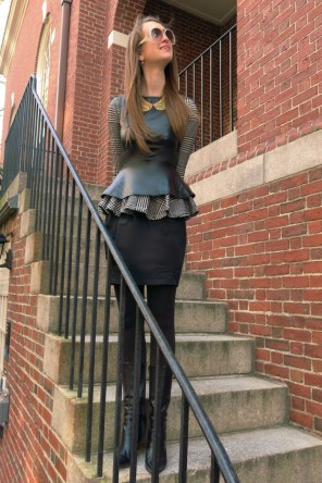 Checkout the rest in Layering Peplum,