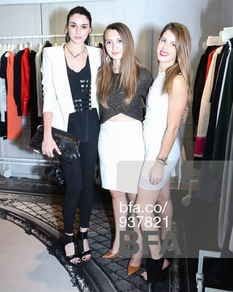 Nicole Charles, me and Samara Zelniker
