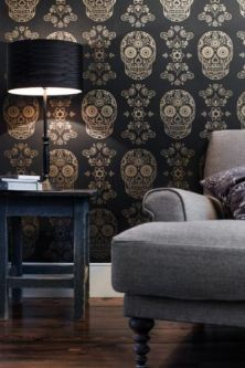 day-of-the-dead-wallpaper-gold-black-19010-p[ekm]334x501[ekm]