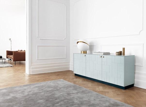 Superfront-0630-Sideboard-BLOCKS-Aerugo-Green-REFLECTION-Brass-PLINTH-Bottle-Green