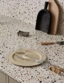 Måttanpassat kök med Terrazzo bänkskiva