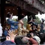 京都 八坂神社 祇園の節分祭