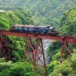 トロッコ列車 運転開始~保津川下りの川開き