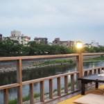 京都 夏の風物詩  鴨川納涼床~鴨川沿い散策