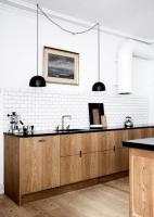 Skandinavische Küche mit rustikalem Flair – was macht ...