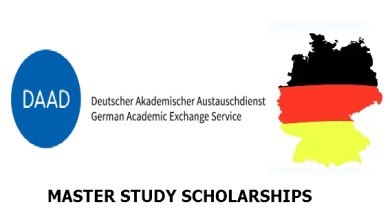 Germany DAAD Master Study Scholarships, 2021-22