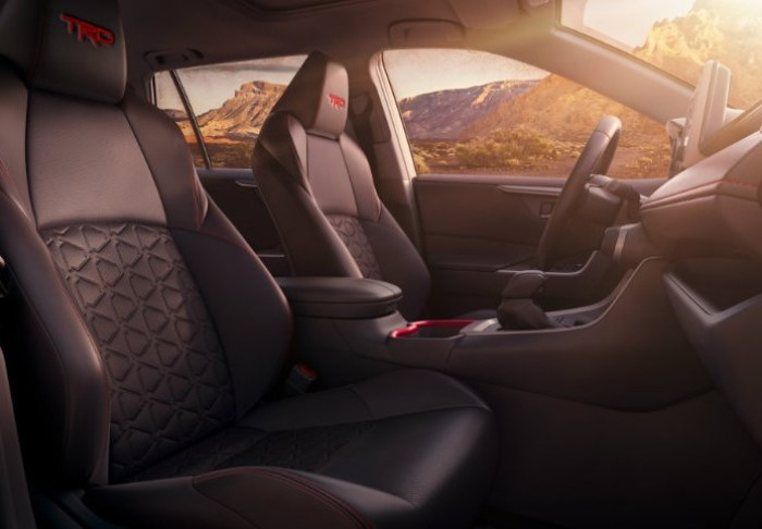 New 2020 Toyota Rav4 Hybrid Limited Awd Interior