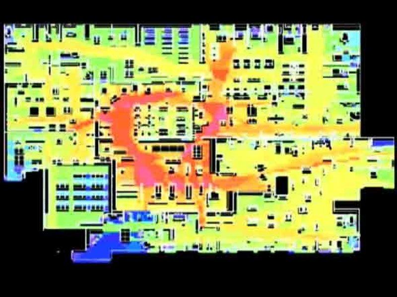 Heatmap: IKEA Customer Store Traffic