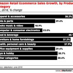 Amazon Sales Growth By Retail Category [CHART]