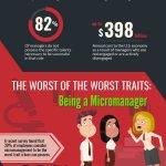 Infographic: Bad Leadership Traits