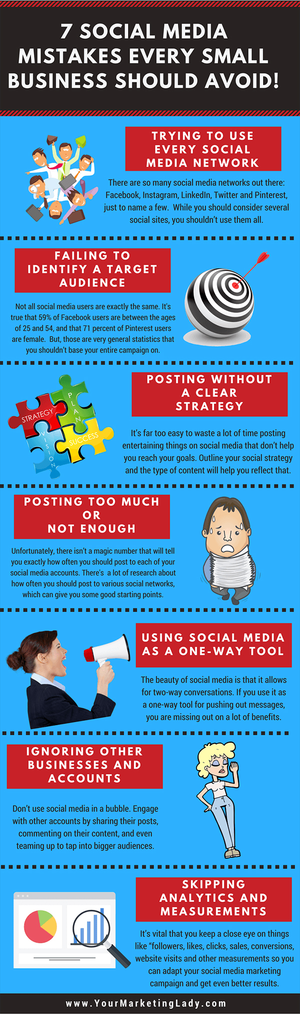 Infographic: Social Media Mistakes